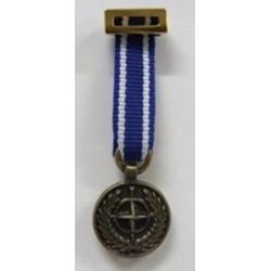 MEDALLA MINIATURA OTAN FORMER YUGOSLAVIA ( SFOR )