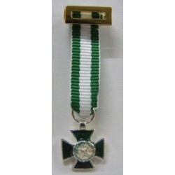 MINIATURA MERITO GUARDIA CIVIL DISTINTIVO BLANCO