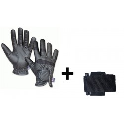 PACK GUANTES ANTICORTE NV.5 + PORTAGUANTES VERTICAL
