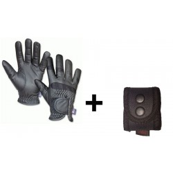 PACK GUANTES ANTICORTE NV.5 + PORTAGUANTES HORIZONTAL