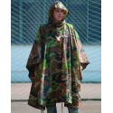 PONCHO IMPERMEABLE CAMUFLAJE RIP-STOP