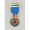 PROTECCION CIVIL DISTINTIVO AZUL ORO
