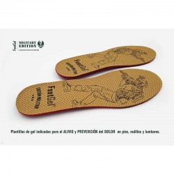 PLANTILLAS FOOTGEL MILITAR ( GEL )