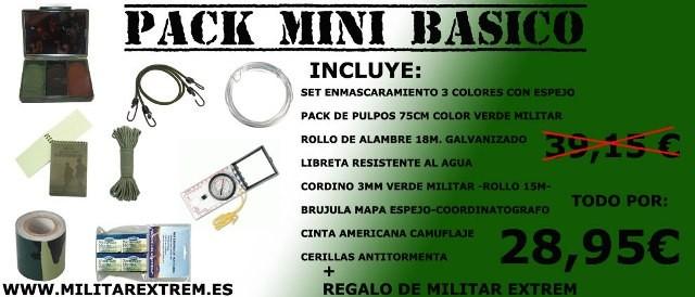 PACK MINI BASICO