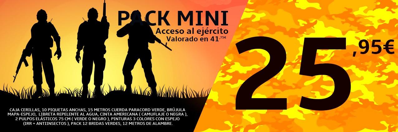 Pack Mini Acceso al ejército